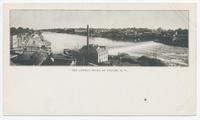 THE OSWEGO RIVER AT FULTON, N.Y. [front caption] (1front) [e0541ac1]