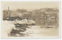 A Winter Morning on the Harbor [front caption]  (1front) [h0169ac1]