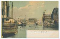 G 2391 Harbor Scene, Buffalo, N.Y.  [front caption] (1front) [e0506ac1]