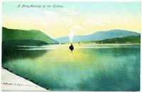 A Misty Morning on the Hudson. [front caption] (1front) [h0128ac1]