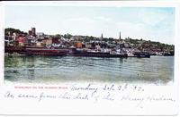 NEWBURGH ON THE HUDSON RIVER. [front caption] (1front) [h0118ac1]