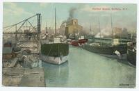Harbor Scene, Buffalo, N.Y. [front caption] (1front) [e0566ac1]