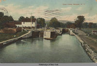 Canal Locks, Mohawk, New York [front caption] (1front) [e0268ac1]
