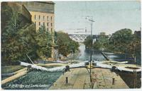 High Bridge and Locks, Lockport, N.Y. [front caption] (1front) [e0564ac1]