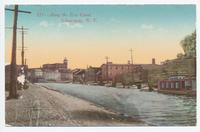Along the Erie Canal, Schenectady, New York (1front) [e0558ac1]