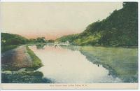 Erie Canal near Little Falls, N.Y.[front caption] (1front) [e0554ac1]