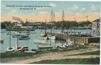 Charlotte Harbor and Naval Reserve Station, Rochester, N.Y. [front caption] (1front) [e0572ac1]