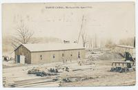 BARGE CANAL. Mechanicville April 1910 [front caption] (1front) [b0006ac1]
