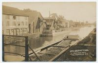 UNLOADING COAL. FROM CANAL BOATS. FULTONVILLE N.Y. [front caption] (1front) [e0565ac1]
