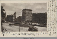 VIEW EAST FROM CLINTON ST. BRIDGE. [front caption] (1front) [e0186ac1]