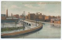 Erie Canal Aqueduct Over Genesee River, Rochester, N.Y. [front caption] (1front) [e0561ac1]