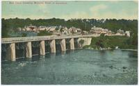 Erie Canal Crossing Mohawk River at Aqueduct. [front caption] (1front) [e0568ac1]