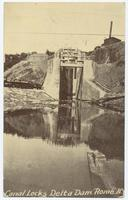 Canal Locks Delta Dam Rome N.Y. [front caption] (1front) [b0057ac1]