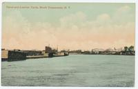 Canal and Lumber Yards, North Tonawanda, New York [front caption] (1front) [e0559ac1]