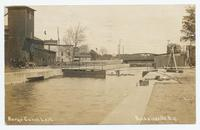 Barge Canal Lock.   Baldwinsville. N.Y. [handwritten front caption] (1front) [b0047ac1]
