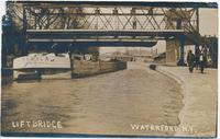 LIFTBRIDGE: WATERFORD N.Y. [handwritten front caption] (1front) [c0065ac1)