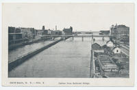 Harbor from Railroad Bridge. [front caption] (1front) [e0509ac1]