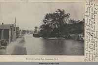 Erie Canal looking East, Amsterdam, N.Y. [front caption] (1front) [e0106ac1]