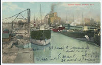 Harbor Scene, Buffalo. New York [front caption] (1front) [e0498ac1]