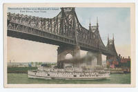 Queensboro Bridge Over Blackwell's Island East River, New York.  (1front) [h0166ac1]