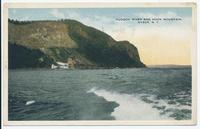 HUDSON RIVER AND HOOK MOUNTAIN. NYACK. N.Y. [front caption] (1front) [h0170ac1]
