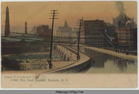 Erie Canal, Aqueduct, Rochester, N.Y. [front caption] (1front) [e0230ac1]