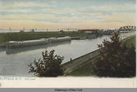 BUFFALO, N.Y. Erie Canal. [front caption] (1front) [e0107ac1]