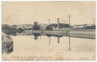 MEDINA, New York, on the East from the Canal [front caption] (1front) [e0531ac1]