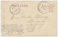 MEDINA, New York, on the East from the Canal [front caption] (2back) [e0531ac2]