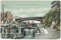 PINE STREET BRIDGE, LOCKPORT, N.Y. (2 back) [e0517ac2]