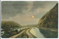 "Midnight View in the Mohawk Valley ""Where the Hills Meet"" near Canajoharie, N.Y. [front caption] (1front) [e0535ac1]"