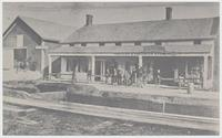 D. & H. CANAL STORE, Port Ben, N.Y. [back caption] (1front) [d0079ac1]