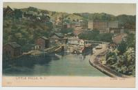 Little Falls, N.Y. Lower Lock [front caption] (1front) [e0578ac1]