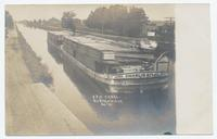 ERIE CANAL. DURHAMVILLE, N.Y. [handwritten front caption] (1front) [e0586ac1]