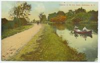 Canoeing on the Erie Canal, Amsterdam, N.Y. [front caption] (1front) [e0055ac1]