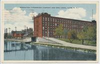 REMINGTON TYPEWRITER COMPANY AND ERIE CANAL, ILION N.Y.. [front caption] (1front) [e0014ac1]