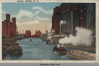 Harbor, Buffalo, New York [front caption] (1 front) [e0116ac1]