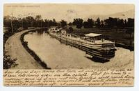 ERIE CANAL NEAR SCHENECTADY. [front caption] (1front) [e0093ac1]