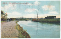 Erie Canal Near Schenectady, New York [front caption] (1front) [e0087ac1]