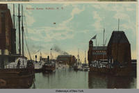 Harbor Scene, Buffalo, New York [front caption] (1 front) [e0117ac1]