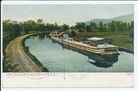 ERIE CANAL NEAR SCHENECTADY, N.Y. [front caption] (1front) [e0038ac1]