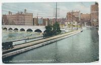 ERIE CANAL AQUEDUCT OVER THE GENESEE, ROCHESTER, N.Y. [front caption] (1front) [e0083ac1]
