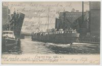 Jack Knife Bridge. Buffalo, New York [front caption] (1front) [e0057ac1]