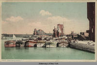 CANAL BOATS. BUFFALO, New York [front caption] (1 front) [e0119ac1]