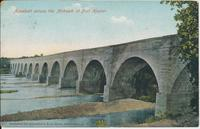 Aqueduct across the Mohawk at Fort Hunter [front caption] (1front) [e0063ac1]