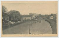 VIEW OF ERIE CANAL, Fultonville, New York [front caption] (1front) [e0610ac1]