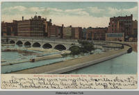Aqueduct carrying Erie Canal over Genesee River, Rochester, N.Y. [front caption] (1front) [e0231ac1]