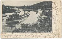 D. & H. CANAL – ELLENVILLE, New York [handwritten front caption] (1front) [d0095ac1]