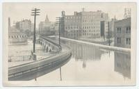 Erie Canal Acqueduct over Genessee River, Rochester, N.Y. (1front) [e0597ac1]