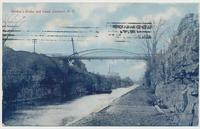 Hitchen's Bridge and Canal, Lockport, N.Y. [front caption] (1front) [e0069ac1]